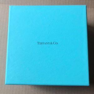 "Tiffany & Co. Party Supplies - Tiffany & Co. Empty Square  Gift Box   6""x6""x 4"""